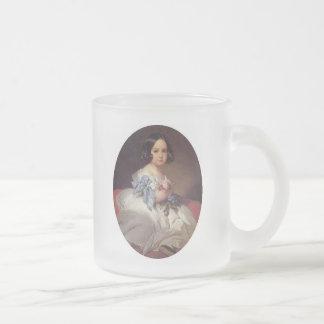 Princesa Charlotte de Bélgica Taza De Cristal