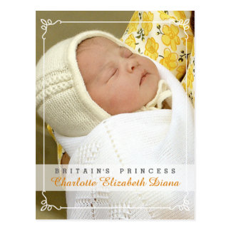 Princesa Charlotte Elizabeth Diana - Guillermo Postal