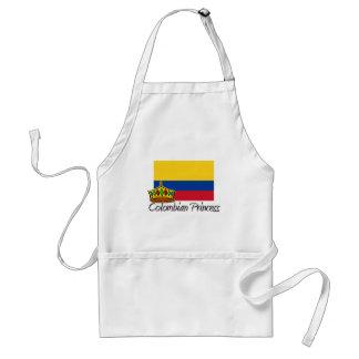 Princesa colombiana delantal