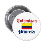 Princesa colombiana pin
