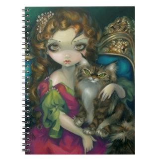 """""""Princesa con el cuaderno de Maine de un gato de C"""