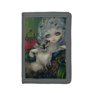 Princesa con la cartera de un gato de Ragdoll