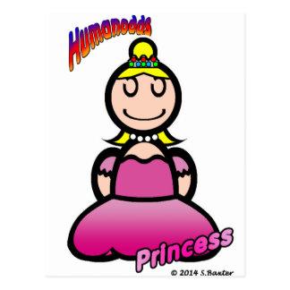 Princesa (con los logotipos) postal