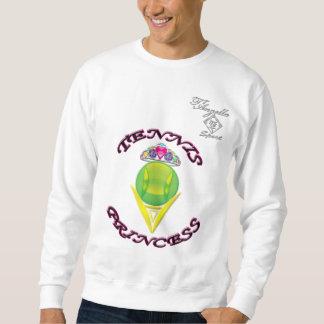Princesa Crewneck Sweatshirt del tenis Sudadera