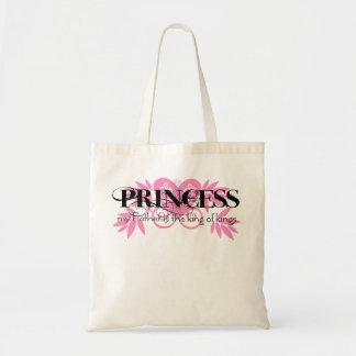 Princesa cristiana bolsa tela barata