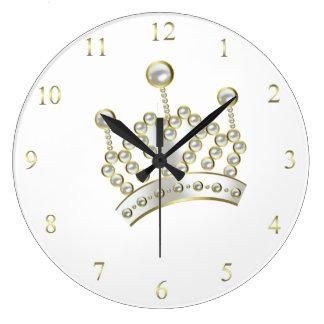 Princesa Crown Clock Relojes