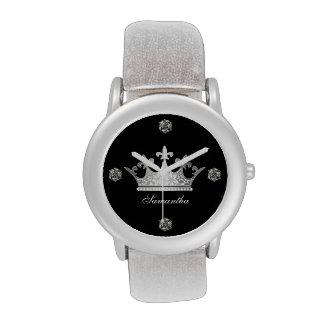 Princesa Crown Custom Watch Relojes De Pulsera