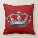 Princesa Crown del vintage Almohadas