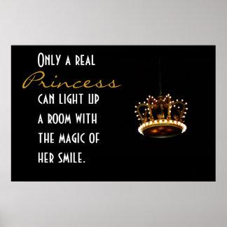 Princesa Crown Póster