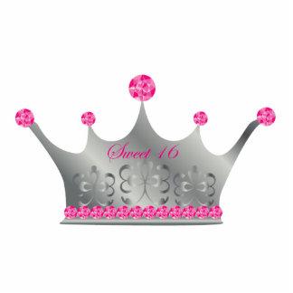 Princesa Crown Sculpture del dulce 16 Fotoescultura Vertical