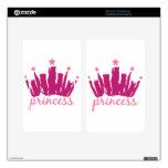 Princesa Crown Skin Para Kindle Fire
