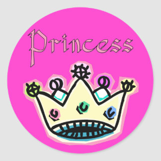 Princesa Crown Stickers
