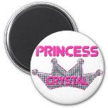 Princesa Crystal Imán Para Frigorífico