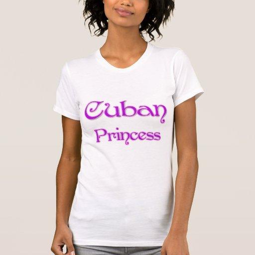 Princesa cubana camisetas