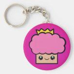 Princesa Cupcake de Kawaii Llaveros Personalizados