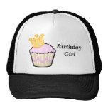 Princesa Cupcake del cumpleaños Gorros