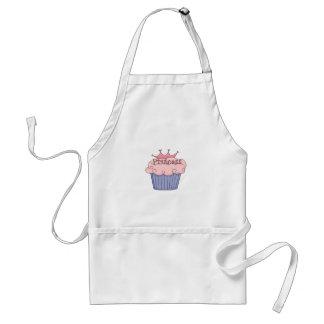 Princesa Cupcake Delantal