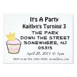 Princesa Cupcake It es un fiesta Invitación 12,7 X 17,8 Cm