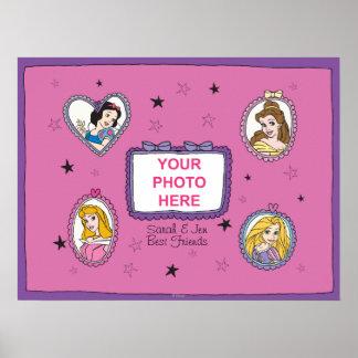 Princesa Customizable Poster de Disney
