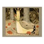 Princesa Daga y el duende CC0807 de Juan Bauer Tarjetas Postales