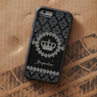 Princesa Damask Crown del vintage Funda Tough Xtreme iPhone 6