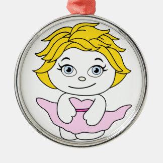 Princesa Dancing Cartoon Ornamento Para Arbol De Navidad