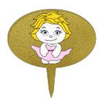 Princesa Dancing Cartoon Figuras Para Tartas