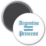 Princesa de Argentina Iman De Frigorífico