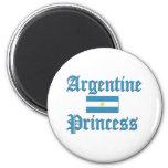 Princesa de Argentina Imán Para Frigorifico