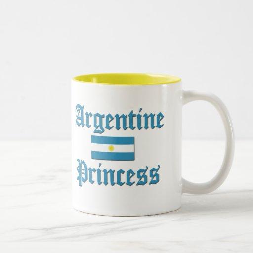 Princesa de Argentina Taza De Café