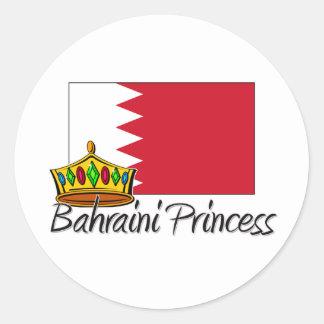 Princesa de Bahrein Etiquetas Redondas