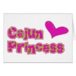 Princesa de Cajun Tarjeta