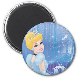 Princesa de Cenicienta Imán Redondo 5 Cm