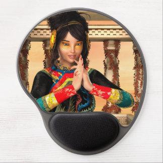 Princesa de China Alfombrillas Con Gel