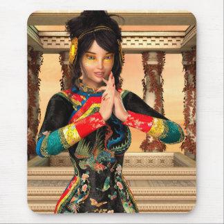 Princesa de China Alfombrillas De Raton