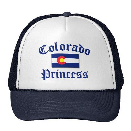 Princesa de Colorado Gorros Bordados