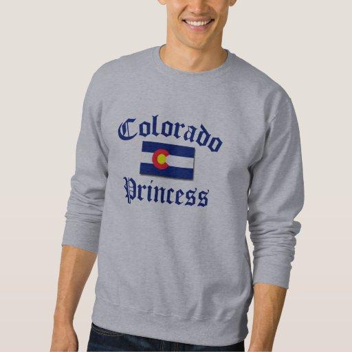 Princesa de Colorado Pullover Sudadera