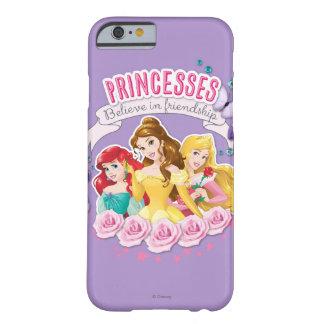 Princesa de Disney el | Ariel, belleza y aurora Funda De iPhone 6 Barely There