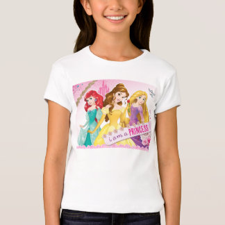 Princesa de Disney el | Ariel, belleza y Rapunzel Playera