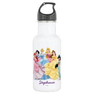 Princesa de Disney el | vestido para impresionar Botella De Agua