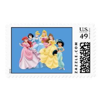 Princesa de Disney el | vestido para impresionar Timbres Postales