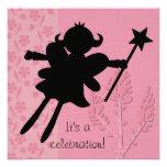 Princesa de hadas Birthday Invitation de la siluet Invitacion Personalizada