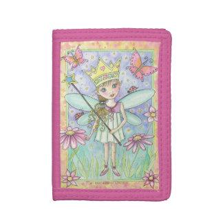 Princesa de hadas de la flor rosada y arte de la