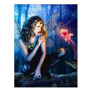 Princesa de hadas hermosa tarjetas postales