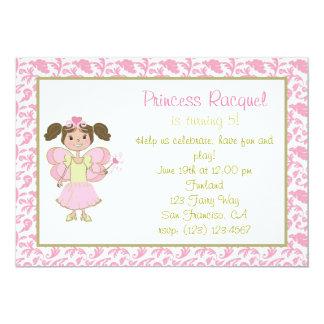 Princesa de hadas Invitation de Latina Anuncio Personalizado