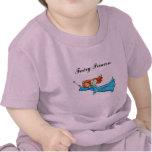 Princesa de hadas Magic Wand del vuelo del clip Camisetas