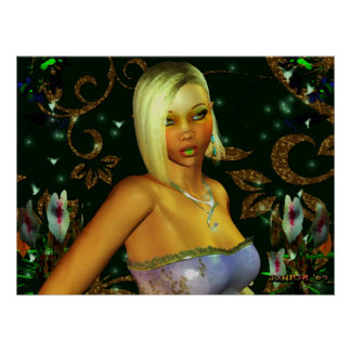 Princesa de hadas Poster