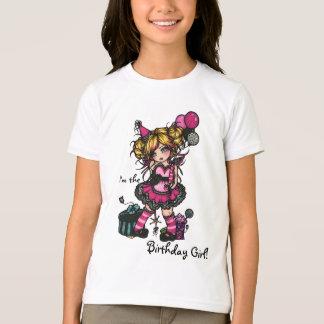 Princesa de hadas Shirt del estampado de zebra del Camisas