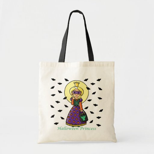 Princesa de Halloween Bolsa Tela Barata
