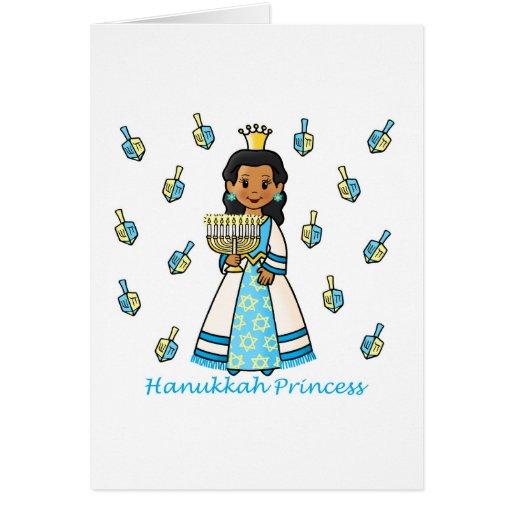 Princesa de Jánuca Tarjeta